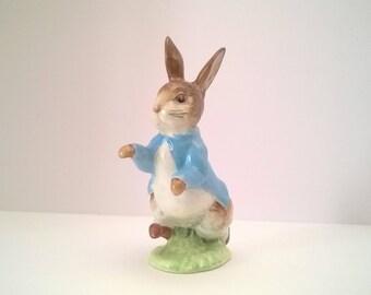 Vintage Beatrix Potter Figurine - Peter Rabbit