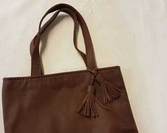 Handmade Small Leather Bag