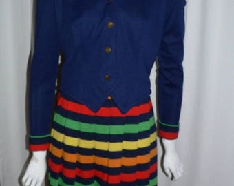 ON SALE 1960's Knit Dress and Jacket ,  Peck and Peck Fifth Avenue  NY
