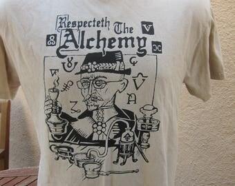 Size L (44) **Alchemy Shirt (Single Sided)