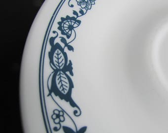 Corelle Old Town Blue Onion Tea/Coffee Saucers X 6