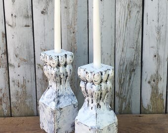 Claw Foot Candle Holders