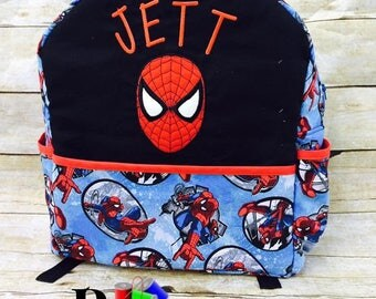 Spider-Man Backpack.    Customized, 100% made from scratch!