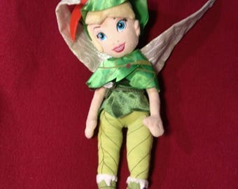 Peter Pan's TINKERBELL Fairy Doll - 15 inches tall