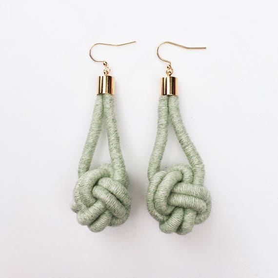 Monkey's Fist Earrings