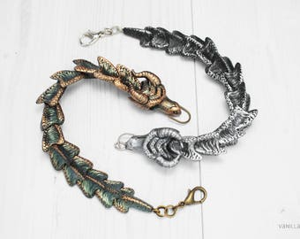 Fantasy Dragon Bracelet Dragons Jewelry Display Item Made To Order