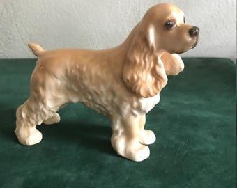Vintage Boehm Porcelain Cocker Spaniel Figurine
