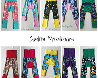 Maxaloones, Grow With Me Pants, Made to Order