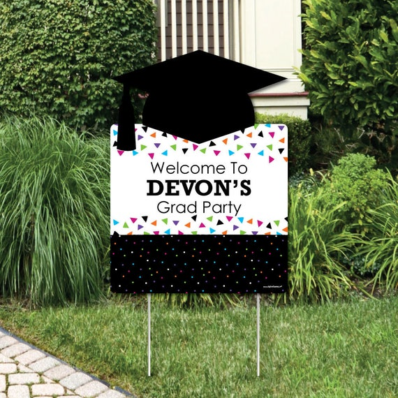 Hats Off Grad Welcome Yard Sign Graduation Party Outdoor. Hand Nba Signs Of Stroke. Los Signs. Video Signs. Scarlet Fever Signs. Bowel Perforation Signs. Investigate Magnifier Signs Of Stroke. Effect Signs Of Stroke. Post Op Signs