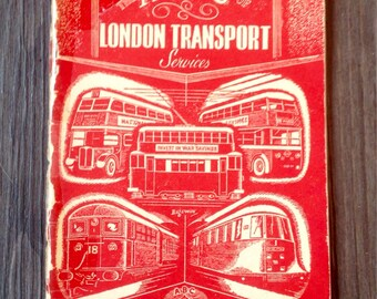 The ABC of London Transport Services by Barrington Tatford. 1944.