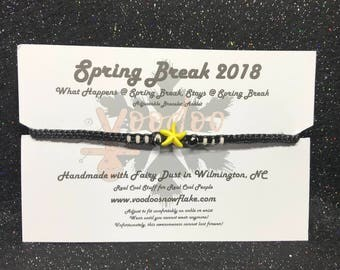 Spring Break 2018 Adjustable Bracelet/Anklet