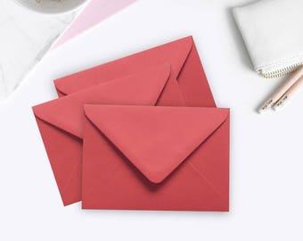 100 Kraft Envelopes 4x6 Kraft A6 Envelopes C6 Envelopes rustic