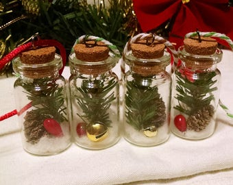 Christmas in a Bottle - Tree Ornament