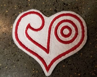 Digimon- Crest of Love Sew on Patch