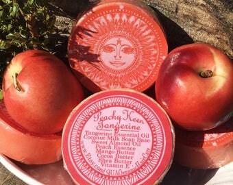 Peachy Keen Tangerine All Natural Soap