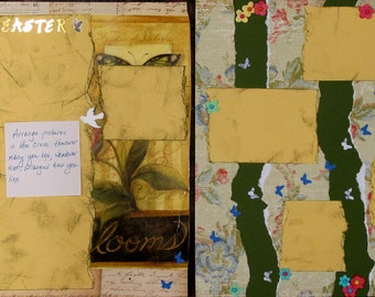 """12""""x12"""" scrapbook pages - Easter Cross"""