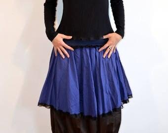 original blue skirt