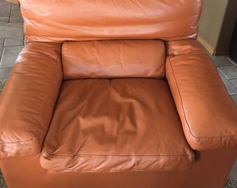 I4 Mariani Leather Arm Chair 1970s