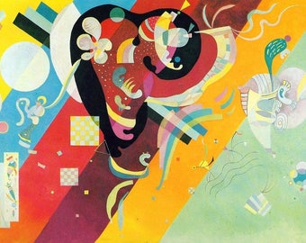 """Laminated placemat Kandinsky """"Composition 9"""""""