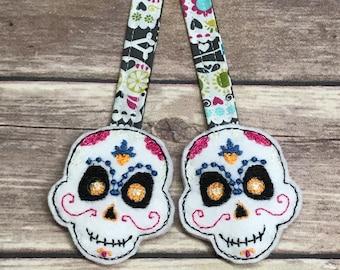 SUGAR SKULLS Reach Straps! Sugar Skulls. Tula Accessories. MJ Reach Straps. Lillebaby Accessories. Kinderpack. Ergo. Bjorn. Beco. Chimparoo.