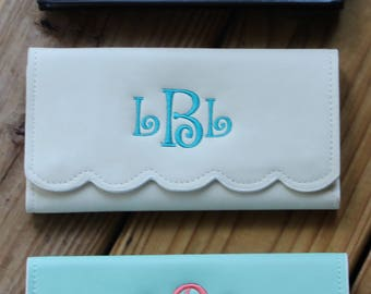 Monogrammed WALLETS/  Great Gift/ Limited Buy!!!
