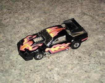 Vintage 80s Hot Wheels - Flip-Outs Camaro Wind - Black
