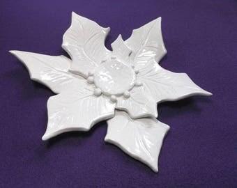 Shell, ceramic, 15 x 18 cm (1557)