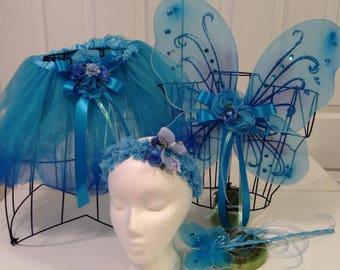 The Blue    Fairy  tutu set
