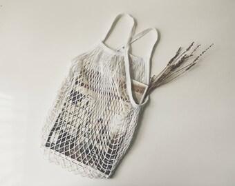 Net Bag French Filet Bag Market Bag Zakka Shopping Bag Gift