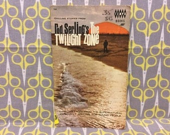 Chilling Stories From Rod Serling's The Twilight Zone by Walter B. Gibson Paperback book Horror Stories Supernatural