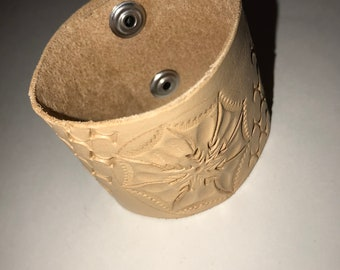 Hand Crafted Leather Cuff