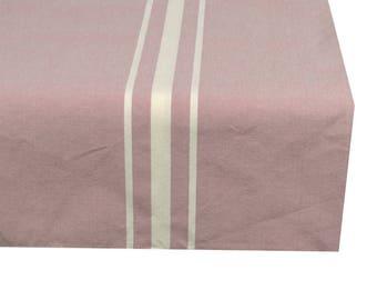 Tablecloth rectangular pastel lilac fabric 150X250cm