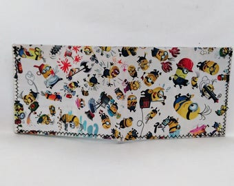 recycled comic book wallet, slim wallet, hanmade wallet, card holder, thin wallet, vinyl wallet, mens wallet, mini