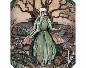 Kira_The Dark Crystal 8x10 Art Print