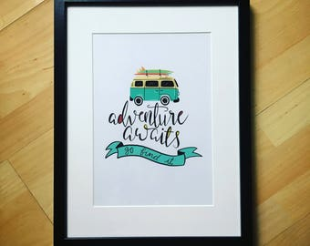 Adventure Awaits Frame