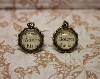 Anne Boleyn Earrings ~ Henry VIII ~ The Tudors