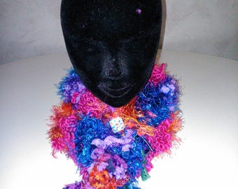 scarf/snood very color with tassel