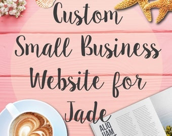 Custom Small Business Website Design for Jade - Milestone Payment (8)