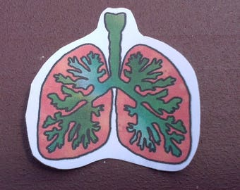Lung Sticker
