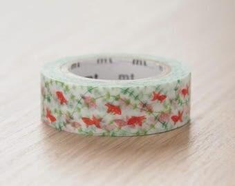 Goldfish washi tape   MT Masking Tape Summer Collection 2017 MT EX Masking Tape (MTEX1P130)