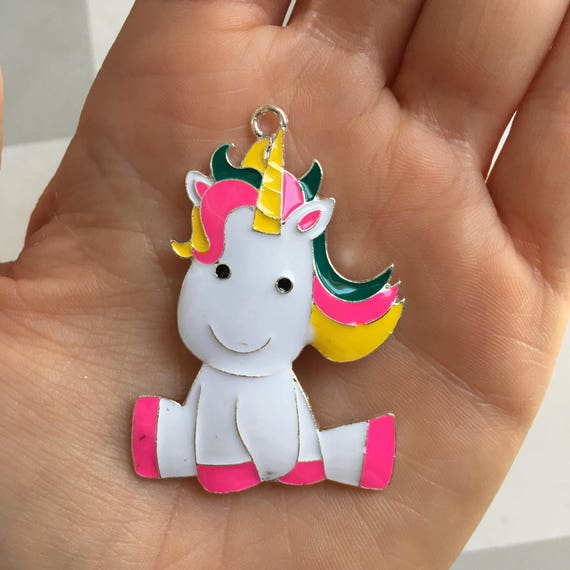 P77 Unicorn Pendant for Chunky Necklaces
