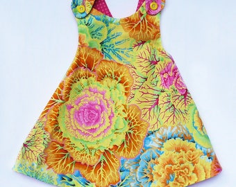 Ready to ship! Reversible Dress.... A mother's dream!
