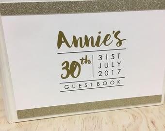 Birthday Guest Book