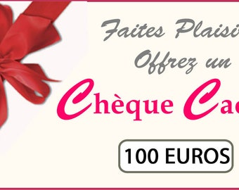 from €100 gift voucher for those loved ones