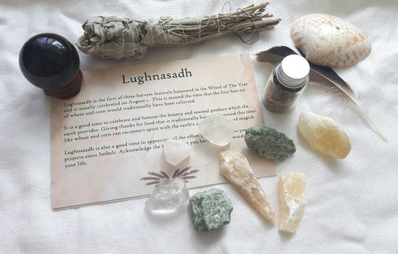 Lughnasadh Spell Kit For Lammas