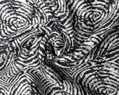 Black and white abstract - made to order chiffon ballet wrap skirt