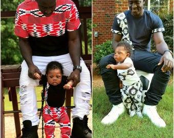 NEW African Print Ankara Boys Diamond Kente Set, Traditional Boys Africa Shirt, Baby Boy Fashion, Kids Kente Clothing, Infant Boy Kente Set