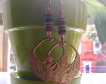 Vinyl Goddess Earrings