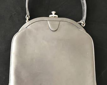 Gray palizzio vintage handbag