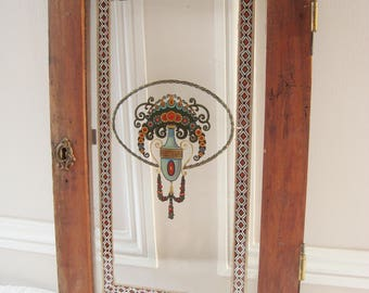 Decorative Glass Panel, Antique French Door, Architectural Salvage, French  Armoire, Antique Transfer
